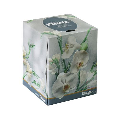 Kleenex Two-Ply Boutique Tissue in Floral Box 36 95ct Boxes