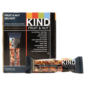 KIND Fruit and Nut Bars Fruit and Nut Delight 12ct