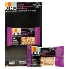 KIND Healthy Grains Bar Maple Pumpkin Seeds with Sea Salt 12ct