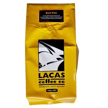 Lacas Coffee Dark Note Coffee Beans 5lb Bag