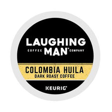 Laughing Man Colombia Huila Dark Roast K-Cups 22ct