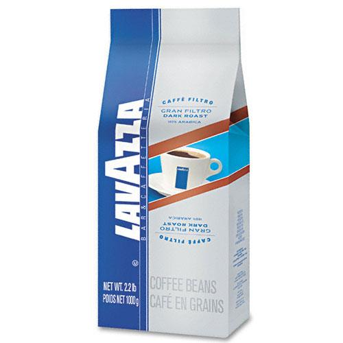 Lavazza Gran Filtro Dark Italian Roast Coffee Beans 2.2LB Bag