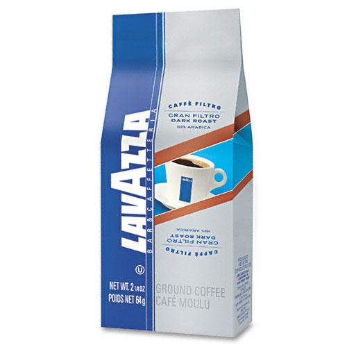 Lavazza Gran Filtro Decaffeinated Ground Coffee 30 2.25oz Frac Packs
