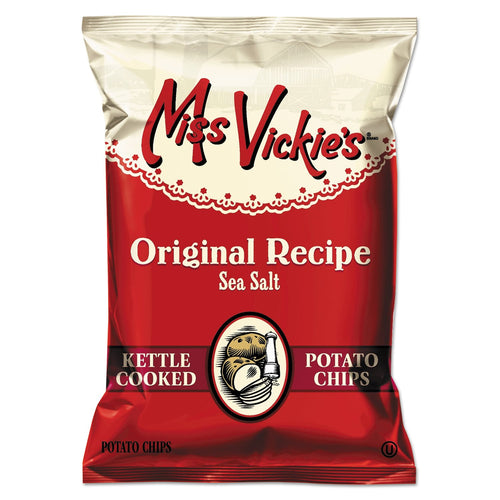 Miss Vickie's Kettle Cooked Sea Salt Potato Chips 64ct