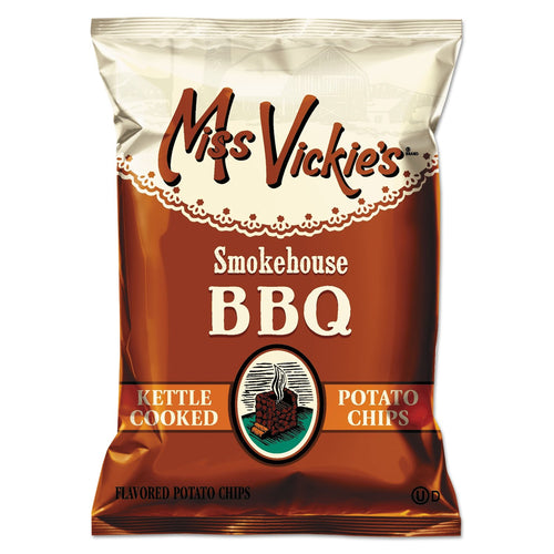 Miss Vickie's Kettle Cooked Smokehouse BBQ Potato Chips 64ct