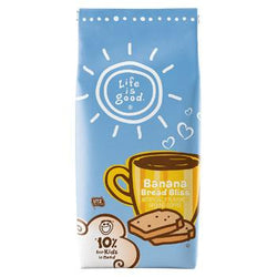 Life is Good Banana Bread Bliss Ground Coffee 11oz bag