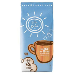 Life is Good Light Hearted Ground Coffee 11oz bag