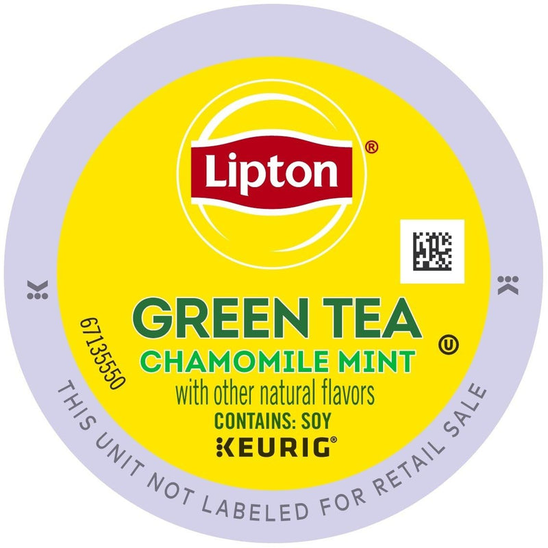 Lipton Tea Chamomile Mint Green Tea K-Cup Pods 24ct