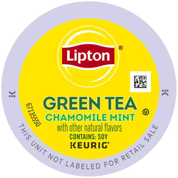 Lipton Tea Chamomile Mint Green Tea K-Cup Pods 96ct
