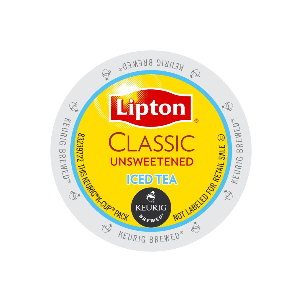 Lipton Classic Unsweetened Iced Tea K Cup 174 Pods 24ct