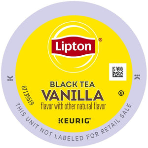 Lipton Tea Rich Black Tea Vanilla K-Cups 96ct
