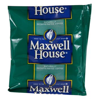Maxwell House Coffee Decaffeinated House Blend Ground Coffee 42 1.25oz Bags