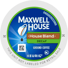 Maxwell House House Blend Decaf K-cup Pods 96ct