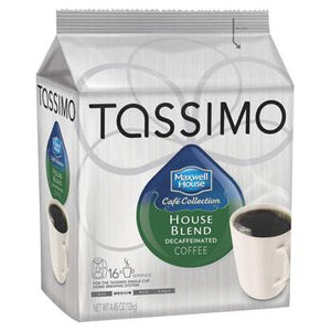 Maxwell House House Blend Decaf Tassimo T-Discs 16ct