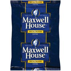 Maxwell House Special Delivery Ground Coffee Filter Packs 42 1.2oz