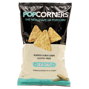 Medora Snacks Popcorners Popped-Corn Chips Sea Salt 12ct