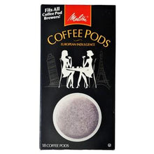 Melitta One:One Blanc Et Noir Coffee Pods 18ct Back