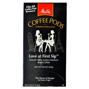 Melitta Coffee Love At First Sip Coffee Pods 18ct Back