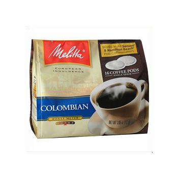 Melitta Colombian Soft Pods (Not for Melitta 1:1) 18ct