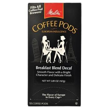 Melitta One:One Breakfast Blend Decaf Coffee Pods 18ct