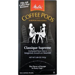 Melitta One:One Classique Supreme Coffee Pods 18ct