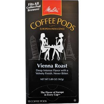 Melitta One:One Vienna Roast Coffee Pods 18ct