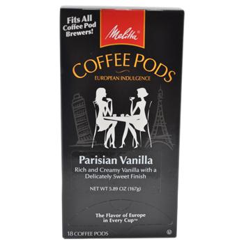 Melitta One:One Parisian Vanilla Coffee Pods 18ct