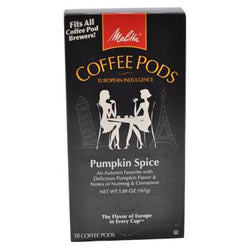 Melitta Pumpkin Spice Coffee Pods 18ct
