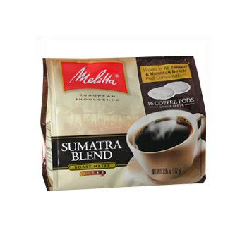 Melitta Sumatra Soft Pod (Not for Melitta 1:1) 18ct