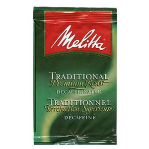 Melitta Traditional Blend Decaf Ground Coffee 42 2oz Bags