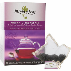 Mighty Leaf Tea Organic Breakfast Blend Pouches 15ct