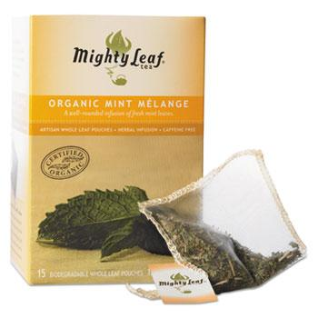 Mighty Leaf Tea Organic Mint Melange 15ct