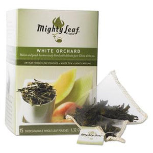 Mighty Leaf Tea White Orchard 15ct