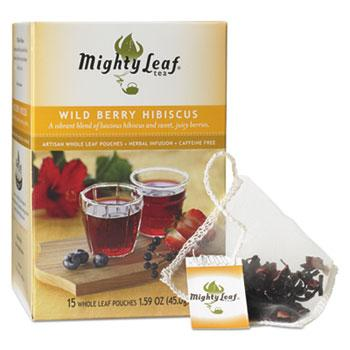 Mighty Leaf Tea Wild Berry Hibiscus 15ct