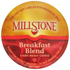Millstone Breakfast Blend K-Cups 72ct Box