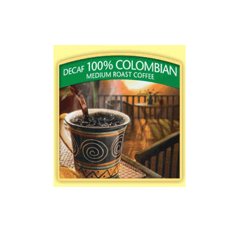 Millstone Colombian DecafCoffee Beans 5lb Bag