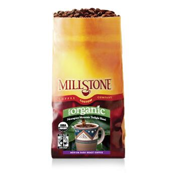 Millstone Organic Fair Trade Nicaraguan Mountain Twilight Blend Coffee Beans 5LB Bag