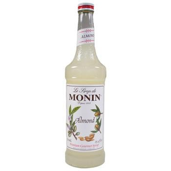 Monin Almond Syrup 2 750ml 25.4oz Bottles