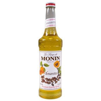 Monin Amaretto Syrup 2 750ml 25.4oz Bottles