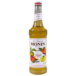 Monin Apple Syrup 2 750ml 25.4oz Bottles