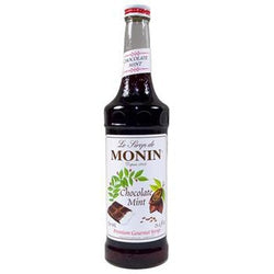 Monin Chocolate Mint Syrup 2 750ml Bottles