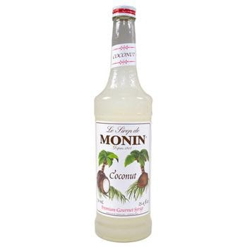 Monin Coconut Syrup 2 750ml Bottles