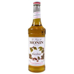 Monin Hazelnut Syrup 2 750ml 25.4oz Bottles