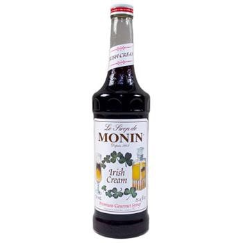 Monin Irish Cream Syrup 2 750ml 25.4oz Bottles
