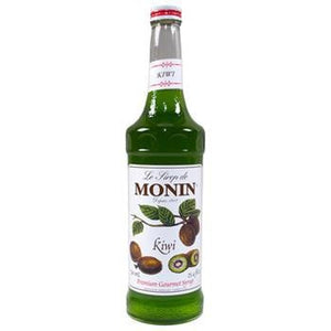Monin Kiwi Syrup 2 750ml 25.4oz Bottles