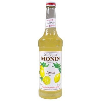 Monin Lemon Syrup 2 750ml 25.4oz Bottles
