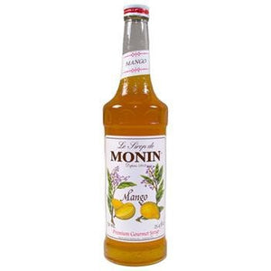 Monin Mango Syrup 2 750ml 25.4oz Bottles