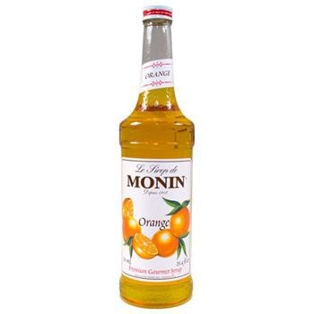 Monin Orange Syrup 2 750ml 25.4oz Bottles