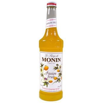 Monin Passion Fruit Syrup 2 750ml 25.4oz Bottles