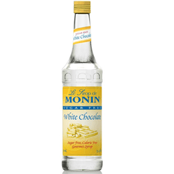 Monin Sugar Free White Chocolate Syrup